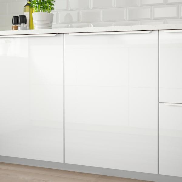 RINGHULT Dvere, lesklá biela, 40x80 cm