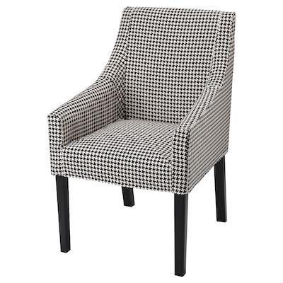 SAKARIAS stolička s opierkou na ruky čierna/Vibberbo 110 kg 60 cm 67 cm 96 cm 42 cm 47 cm 52 cm