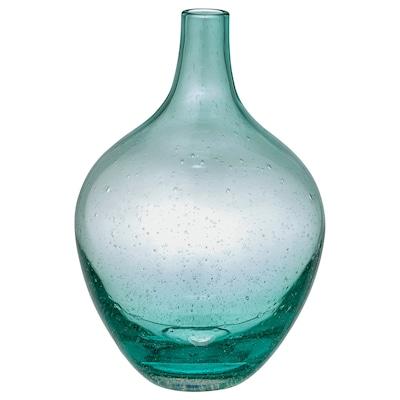 SALONG Váza, svetlotyrkysová, 20 cm