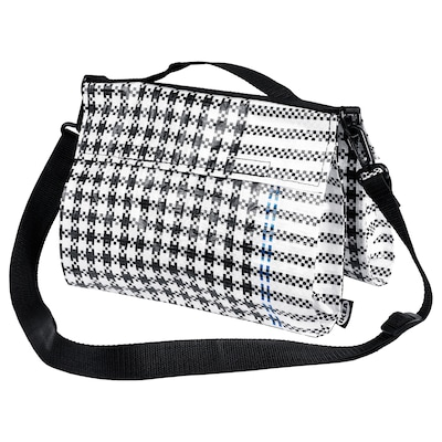 SAMMANKOPPLA taška čierna/biela 27 cm 22 cm 5.5 l