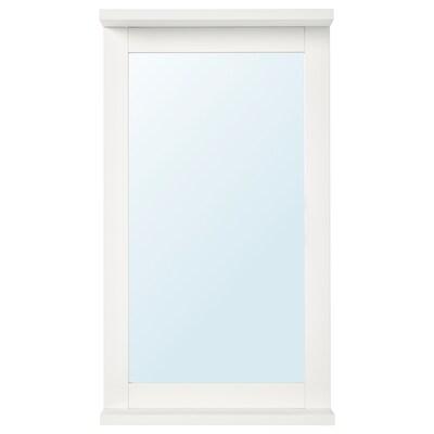 SILVERÅN zrkadlo s policou biela 36 cm 63.8 cm