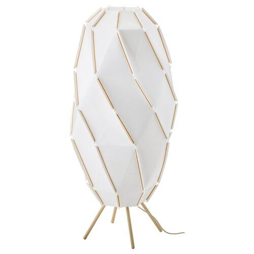 SJÖPENNA stojacia lampa biela 13 W 1 m 44 cm 2 m
