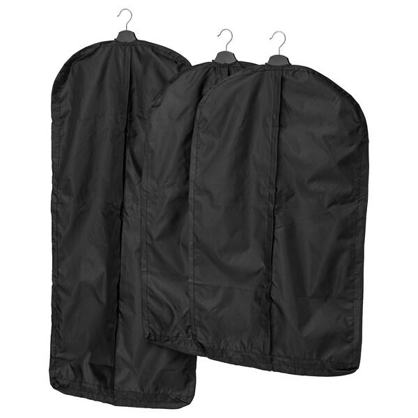 SKUBB obal na šaty, 3 ks čierna