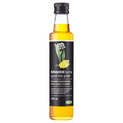 SMAKRIK Repkový olej, divoký cesnak organický