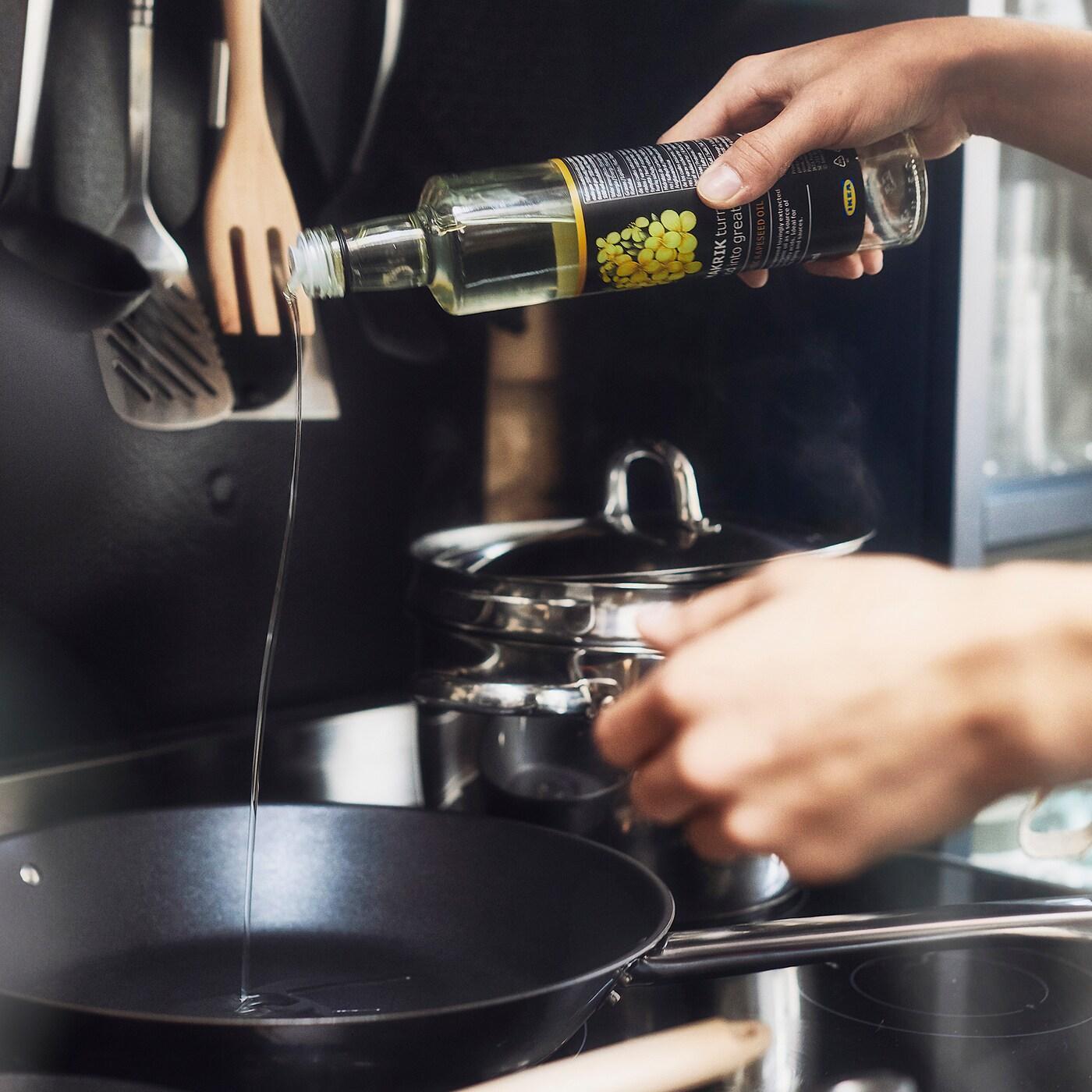 SMAKRIK Repkový olej, organický