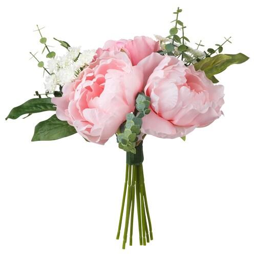 SMYCKA umelé kvety ružová 25 cm