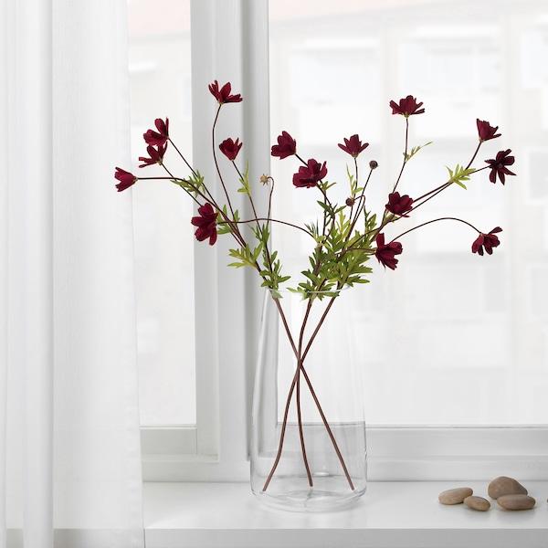 SMYCKA Umelá kvetina, Krasuľka/tmavočervená, 65 cm
