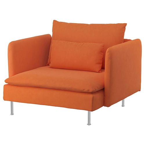SÖDERHAMN kreslo Samsta oranžová 105 cm 99 cm 83 cm 93 cm 48 cm 40 cm