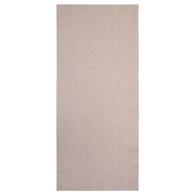 SÖLLINGE Koberec, hladko tkaný, béžová, 65x150 cm