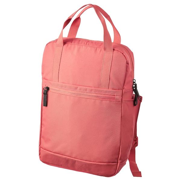 STARTTID ruksak ružová-červená 12 l