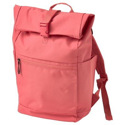STARTTID ruksak ružová-červená 18 l