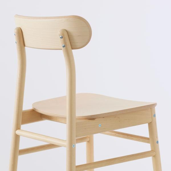 STENSELE / RÖNNINGE Stôl a 2 stoličky, antracit/antracit breza, 70 cm