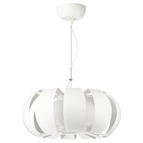 STOCKHOLM závesná lampa biela 60 W 23 cm 55 cm 1.5 m