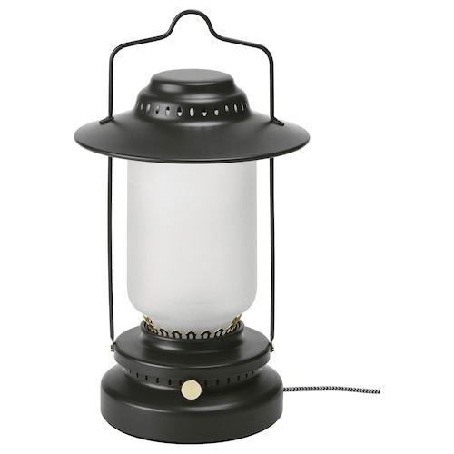 STORHAGA LED stolová lampa stmievateľné exteriér/čierna 55 lm 35 cm 15 cm 1.5 m 3.5 W