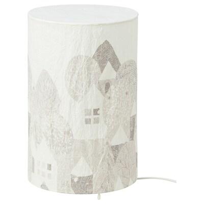 STRÅLA LED stolová lampa, krajina, 30 cm