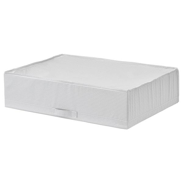 STUK Úložný diel, biela/sivá, 71x51x18 cm