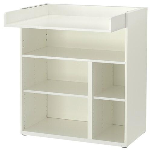 STUVA prebaľovací stôl/lavice biela 90 cm 79 cm 102 cm 15 kg