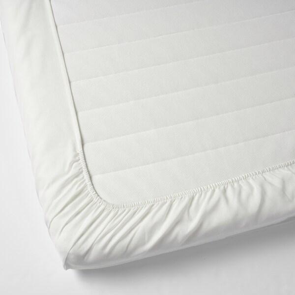 TAGGVALLMO plachta biela 100 inch² 200 cm 90 cm 16 cm