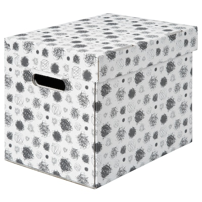 TITTAR Škatuľa s vrchnákom, 25x34x26 cm