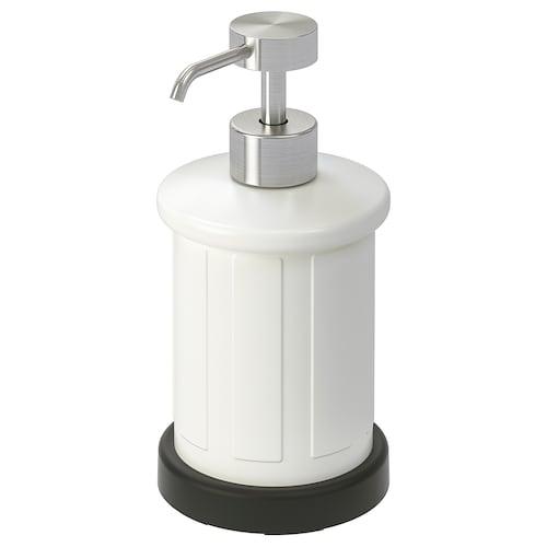 TOFTAN dávkovač na mydlo biela 17 cm 400 ml