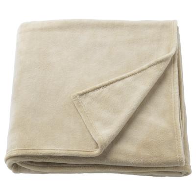 TRATTVIVA posteľná prikrývka béžová 250 cm 150 cm