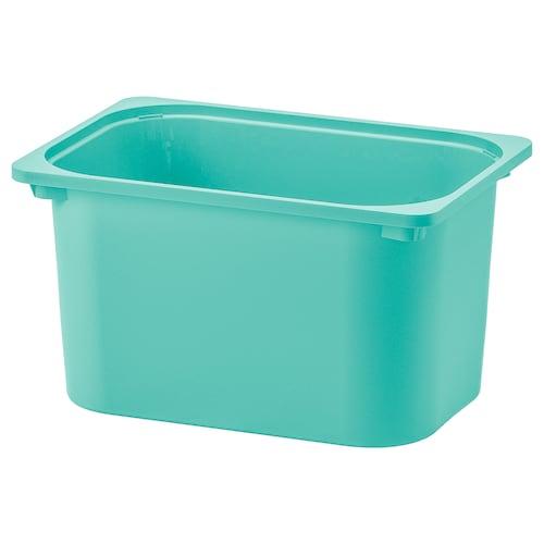 TROFAST úložný box tyrkysová 42 cm 30 cm 23 cm