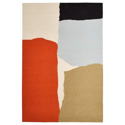 TVINGSTRUP Koberec, hladko tkaný, vyrobené ručne/viacfarebný, 133x195 cm