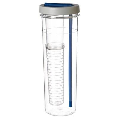 UPPLADDA Fľaša so slamkou, 0.7 l