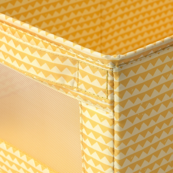 UPPRYMD Škatuľa, žltá, 25x44x17 cm