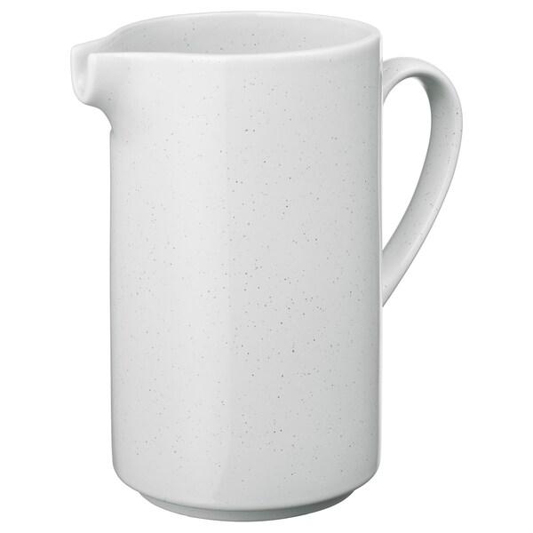 UPPVAKTA váza biela 20 cm