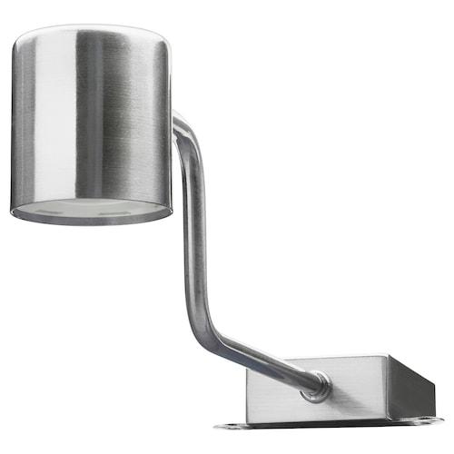 URSHULT LED osvetlenie skrinky poniklované 100 lm 29 cm 7.4 cm 9.3 cm 3.5 m 2 W