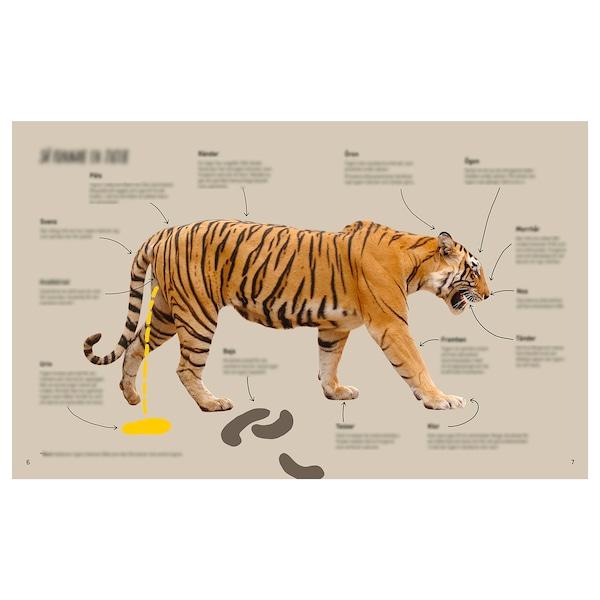 URSKOG kniha Stretnutie s Tigrom 104 kusov 20.6 cm 26.8 cm