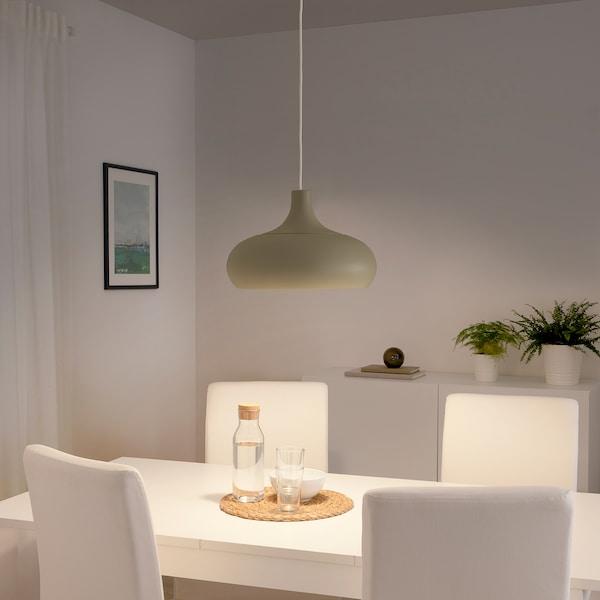 VÄXJÖ Závesná lampa, béžová, 50 cm