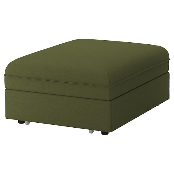 VALLENTUNA poťah na modulovú posteľ/pohovku Orrsta olivovozelená