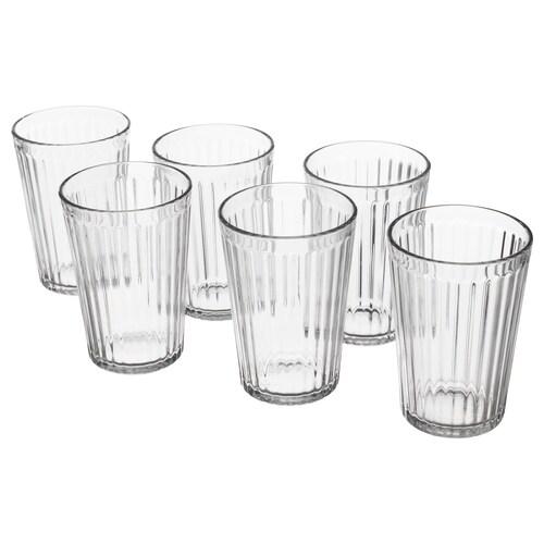 VARDAGEN pohár číre sklo 11 cm 31 cl 6 ks