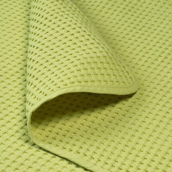 VÅRELD posteľná prikrývka svetlozelená 250 cm 150 cm