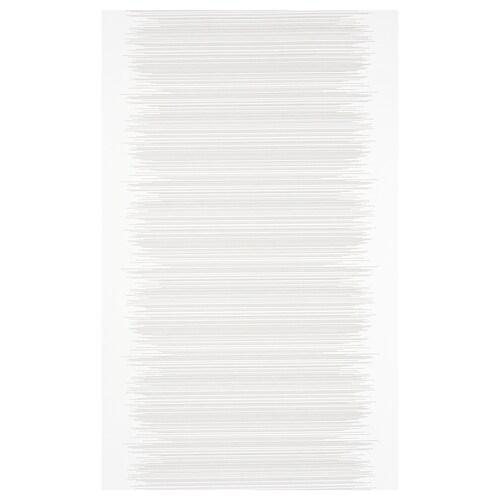 VATTENAX záves biela/biela 300 cm 60 cm 1.80 m²