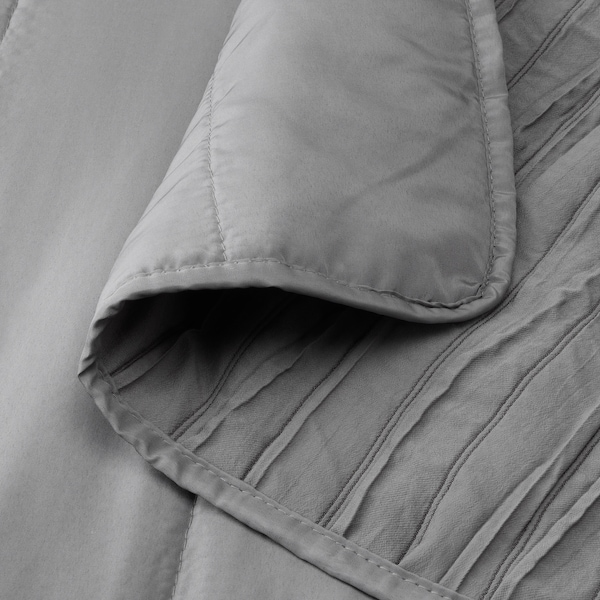VEKETÅG posteľná prikrývka sivá 250 cm 180 cm