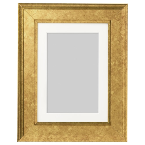 VIRSERUM rám zlatá 13 cm 18 cm 10 cm 15 cm 9 cm 14 cm 19 cm 24 cm