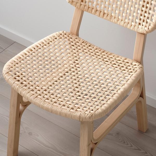 VOXLÖV Stolička, svetlý bambus