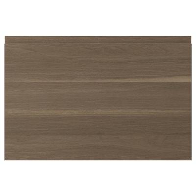 VOXTORP dvere orechový efekt 59.6 cm 39.7 cm 2.1 cm