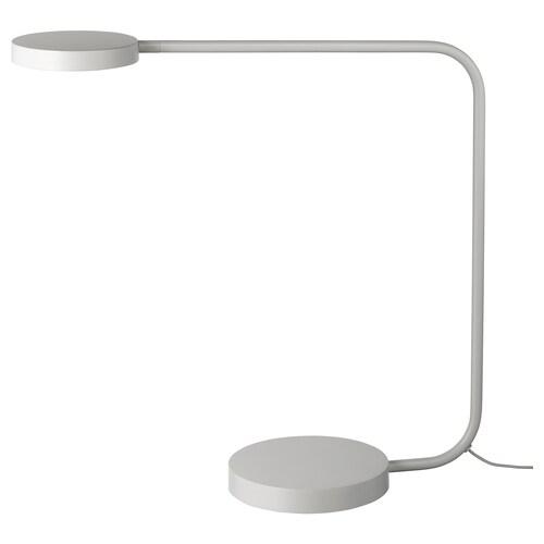 YPPERLIG LED stolová lampa svetlosivá 12 cm 44 cm 16 cm 2.5 m 7.0 W