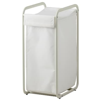 ALGOT Storage bag with stand, white, 56 l