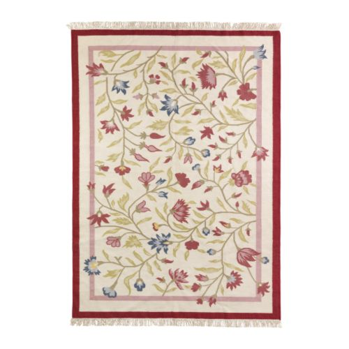 ALVINE Rug, flatwoven   The rug is hand-woven by skilled craftspeople and adds a personal touch to your room.