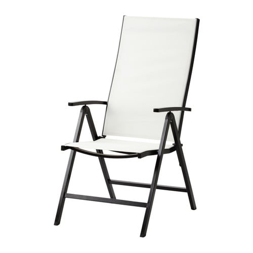 AMMERÖ Position chair   The back is adjustable to 5 positions; adjust according to need.  High back; provides great support for your neck.