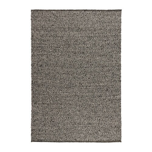 BASNÄS Rug, flatwoven   The durable, soil-resistant wool surface makes this rug perfect in your living room or under your dining table.