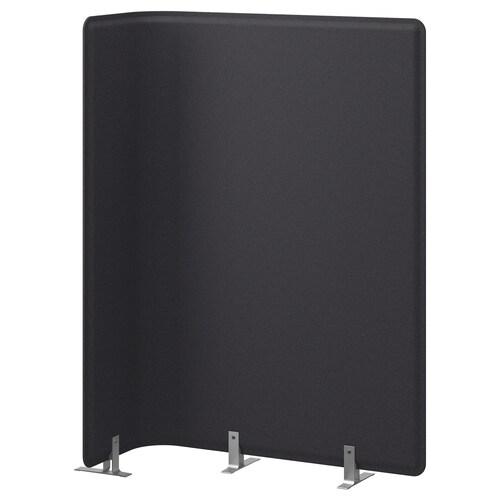 BEKANT screen for desk grey 83 cm 120 cm 2.5 cm