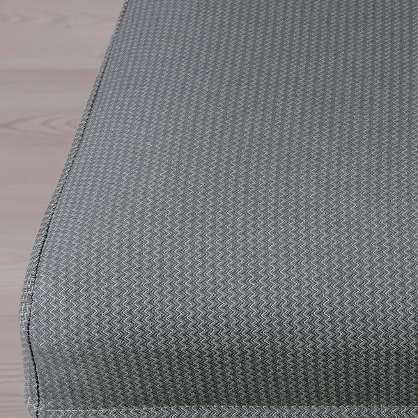 BERGMUND Chair cover, Nykvarn grey