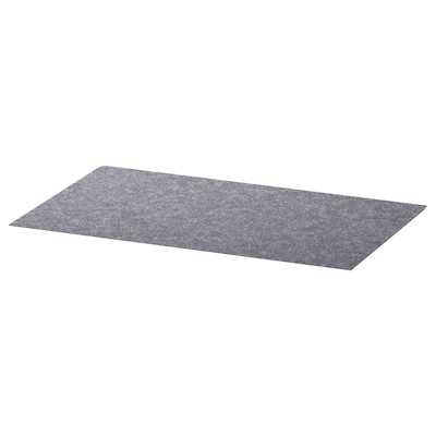 BESTÅ Drawer mat, grey, 32x51 cm