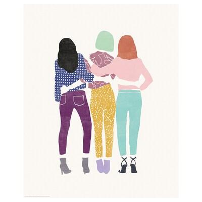 BILD Poster, Friends forever, 40x50 cm
